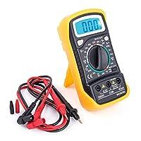 MAS830L Digital Multimeter DC Current Resistance AC/DC Voltage Ohmmeter Voltage Tester, Current, Resistance, Continuity