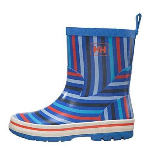 Helly Hansen Jk Midsund Graphic, Chaussures de Sport Mixte Bébé noir - blanc - bleu - rouge