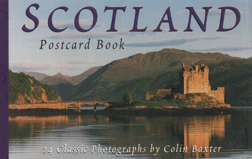 Scotland Postcard Book by Baxter, Colin ( AUTHOR ) Jun-01-2000 Paperback