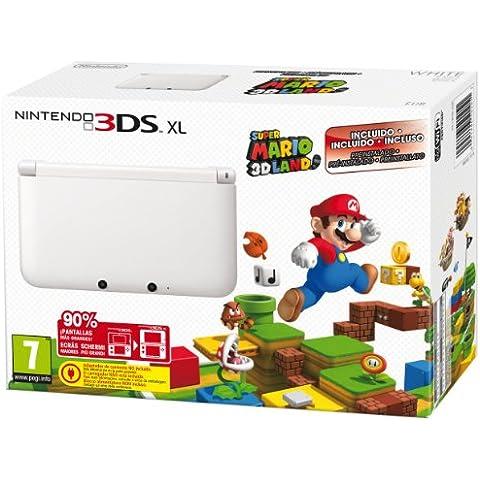Nintendo 3DS - Consola XL - Color Blanco - Incluye Super Mario 3D Land