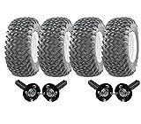 Hochleistungs-Doppelachs-ATV-Anhänger-Kit - Quad-Anhänger - 4 Wanda-Räder + SteelPress-Produktion Nabe / Achsschenkel, (keine Anhängevorrichtung) schwere 1800kg