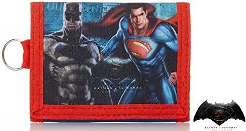 Batman Kinder-portemonnaies (Batman vs. Superman- tolle Geschenkidee / Kinder Geldbörse/ Geldbeutel / Portemonnaie / Brieftasche)