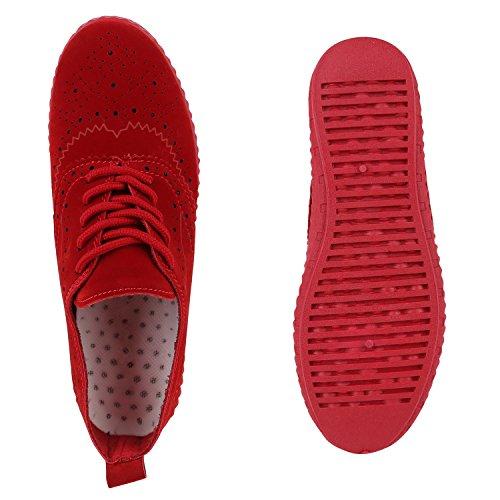 De Lazer Padrão Couro vermelhos Esportes Lace Senhoras Óptica Sapatilhas Buraco TqERfOw