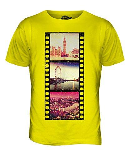 CandyMix London Fotografischer Film Herren T Shirt Zitronengelb
