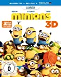 Minions (+ Blu-ray) [Blu-ray 3D]