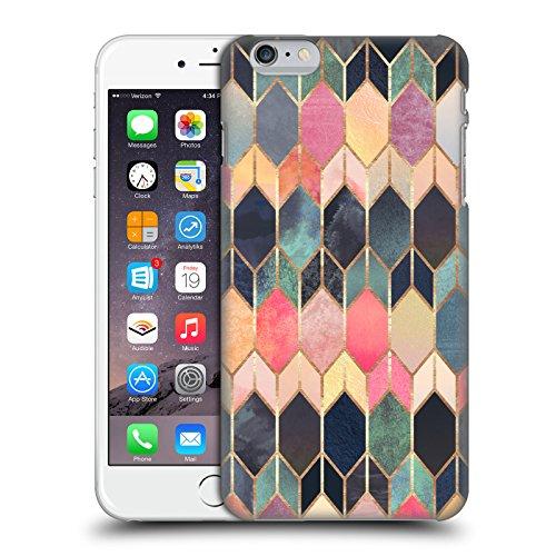 Offizielle Elisabeth Fredriksson Blaues Glas Geometrisches Designs Und Muster Ruckseite Hülle für Apple iPhone 6 / 6s Buntes Glas