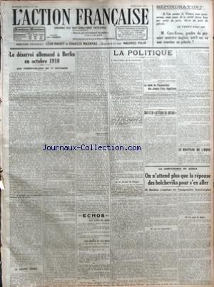 ACTION FRANCAISE (L') [No 128] du 08...