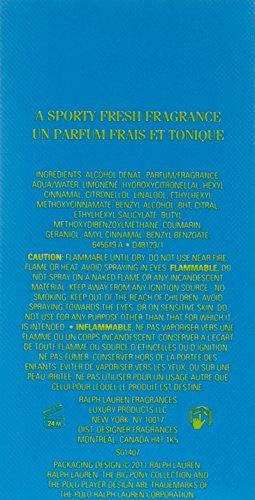 Ralph Lauren BIG PONY 1 for Women Eau De Toilette Perfume 50ml (1.7 Oz) EDT Spray (Blue)