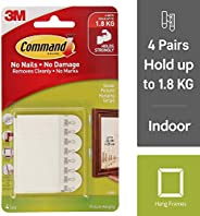 Command Small Picture Hanging Strips, 17202ES /17202, White, HOLDS 1.8 KG
