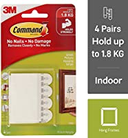 Command Small Picture Hanging Strips 17202ES