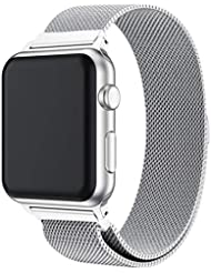 FeiliandaJJ Stainless Steel Band For Apple Watch Series 4 40MM Milanese Magnetic Watch Band Wristwatches Strap