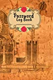 Blue Print Design Password Keeper with Alphabetical Tabs - Alphabetical Tabs Password Logbook For Old People - Logbook To Protect Usernames, Notebook: ... Keeper Logbook A-Z Index Password Organizer