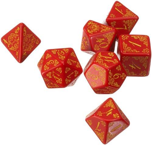 Q-workshop  Set Dadi Pathfinder Curse of The Crimson Throne Q-Workshop