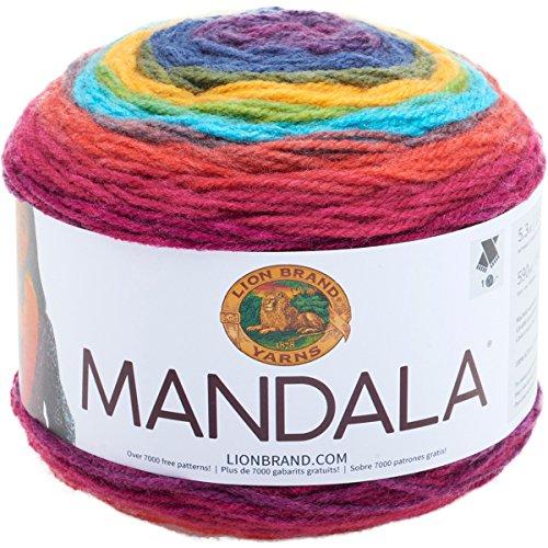 Lion Brand Yarn 525-200Mandala Garn Wizard