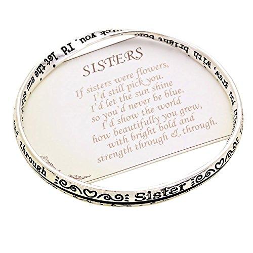 """Rosemarie Collections Damen-Armband """"Schwester"""" mit englischsprachiger Gravur"""