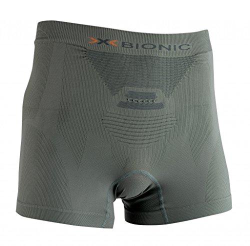 X-Bionic Herren Hunting Light Man UW Boxer Unterwäsche, Sage Green/Anthracite, XXL (3 Green X Sage)