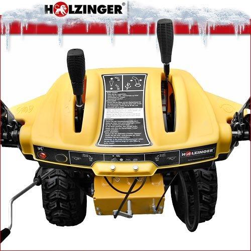 Holzinger Benzin-Schneefräse HSF-110(LE) mit E-Start, Licht und Radantrieb - 3