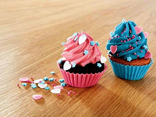 Silvercrest Cupcake-Maker (800-1000 W) zur Zubereitung von 7 Mini Cupcakes in einem Backvorgang