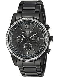 Akribos XXIV Reloj de cuarzo Man AK868BK 41 mm