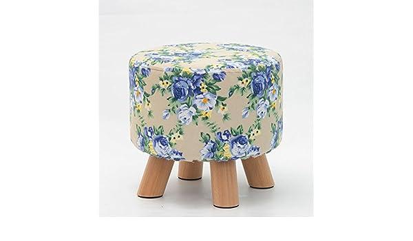 Woohouse sgabelli in legno piedi sedie sgabelli round piccolo