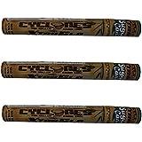 3x Cyclones XtraSlo–Caña––Envuelto doble Pre enrollado Cono Blunts–Extra Cono de combustión lenta Blunt–se vende por Trendz