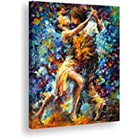 Tela quadro in canvas - Lenoid Afremov Lotta Interna della lussuria - Artyexpress Made in Italy