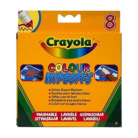 Velleda Feutres - Crayola - Loisir Créatif - 8 Feutres