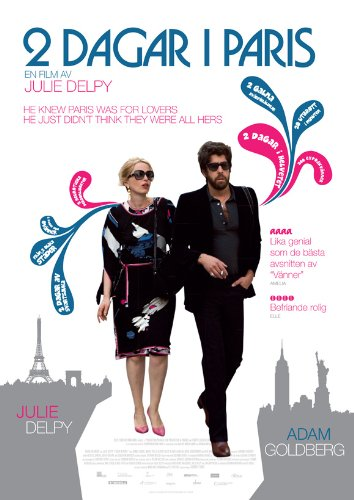 2 Days in Paris Plakat Movie Poster (27 x 40 Inches - 69cm x 102cm) (2007) Hong Kong