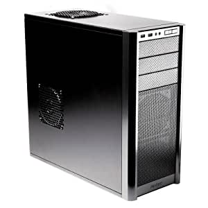 Antec Three Hundred Gaming ATX Solid Metal Construction Case - Black