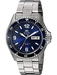 Orient Reloj Analogico para Mujer de Automático con Correa en Acero  Inoxidable FAA02002D9 c69442d17d3f