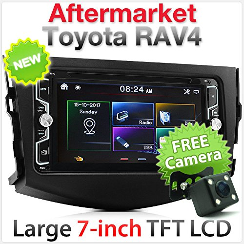 Auto DVD CD USB MP3 MP4 Player SD Radio Stereo Faszie Kit RAV 4 ()