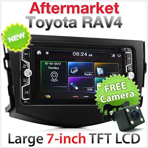 17,8cm Toyota RAV4Auto DVD CD USB MP3MP4Player SD Radio Stereo Faszie Kit RAV 4