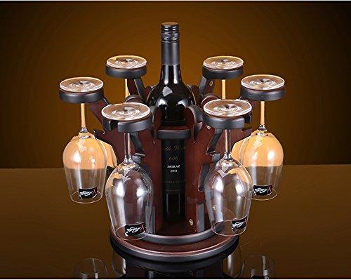 Lshky Bäume Form Holz Weinregal Europäischen Mode Bar Kreative Weinregal Weinglas Halter