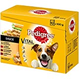 Pedigree Hundefutter in Sauce, 48 Beutel (4 x 12 x 100 g)