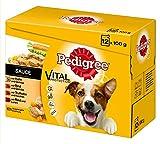 Pedigree Hundefutter in Sauce, 48 Beutel (4 x 12 x 100 g)
