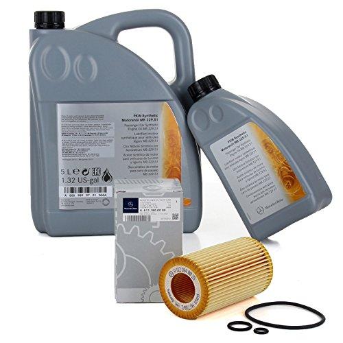 Orignal Mercedes-Benz Motoröl + Ölfilter