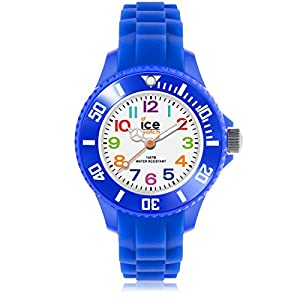 Ice-Watch – Ice Mini Blue – Blaue Jungenuhr mit Silikonarmband – 000745 (Extra small)