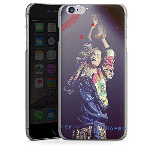 Apple iPhone X Silikon Hülle Case Schutzhülle Frau Jacke Tanzen Hard Case anthrazit-klar