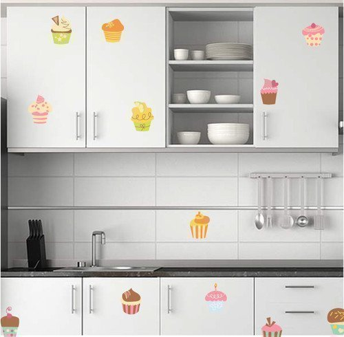 60-second-makeover-limited-wandaufkleber-grafik-abziehbilder-12-x-cupcakes-kinderzimmer-oder-kchensc