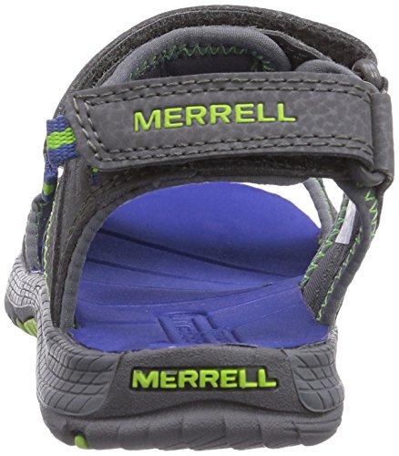 Merrell Panther, Sandales de marche Garçon Grey/Blue