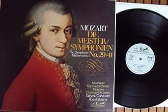 Die Meister Symphonien - No. 29-41. Rudolf Barshai Stereo
