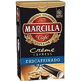 Marcilla Molido CRÈME EXPRESS DESCAFEINADO - , Pack de 6