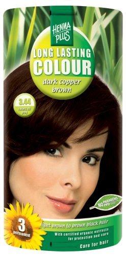 Hennaplus Long Lasting Colour Dark copper brown 3.44 - 100 ml -