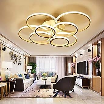 weiting super d nnen kreisringe moderne led decke kronleuchter lampe wohnzimmer schlafzimmer. Black Bedroom Furniture Sets. Home Design Ideas
