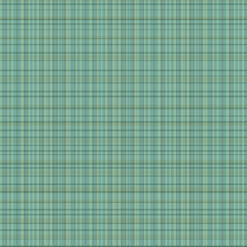 WallCandy Arts Removable Wallpaper, Plaid Green