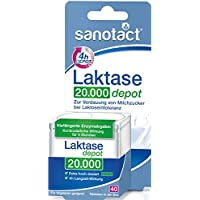 Preisvergleich für Sanotact Laktase 20.000 FCC Depot Tabletten 6x40St.