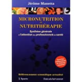 Télécharger Micronutrition et Nutrithérapie : Synthèse