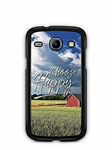 YuBingo Choose Happy Designer Mobile Case Back Cover for Samsung Galaxy Core
