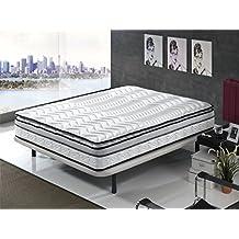 Living Sofa COLCHÓN COLCHONES VISCOELASTICO VISCOELASTICA con Doble Topper Cloud System