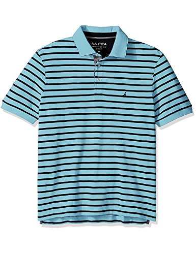 nautica-mens-mens-blue-striped-short-sleeve-polo-in-size-xxxl-blue